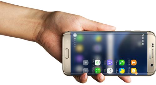 Samsung Galaxy S7 Schnellzugriff