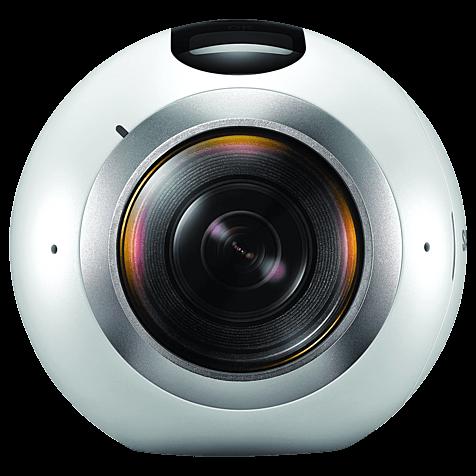 Samsung Gear 360 Kamera Weiß 99925309 hero