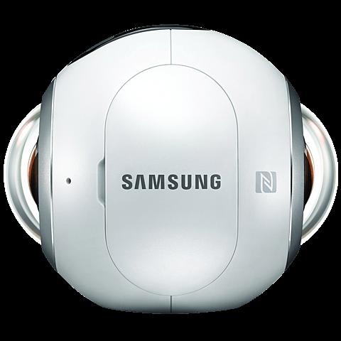 Samsung Gear 360 Kamera Weiß 99925309 hinten