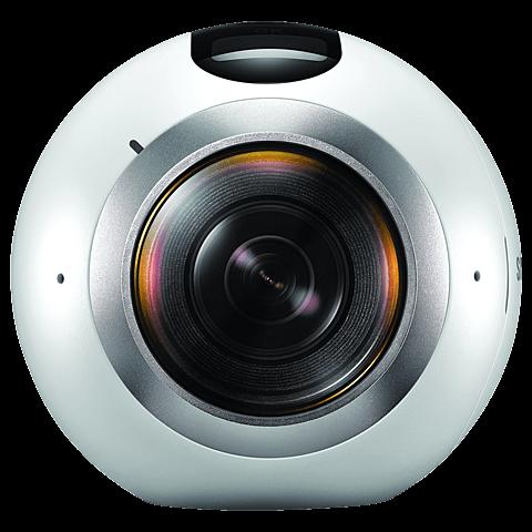 Samsung Gear 360 Kamera Weiß 99925309 vorne