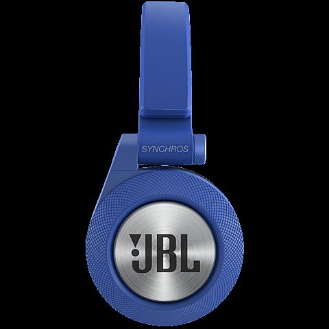 JBL E40 On-Ear Bluetooth-Kopfhörer Blau 99925068 seitlich