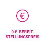 0 € Bereitstellungspreis