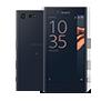 Sony Xperia X Compact Schwarz vorne und hinten thumb