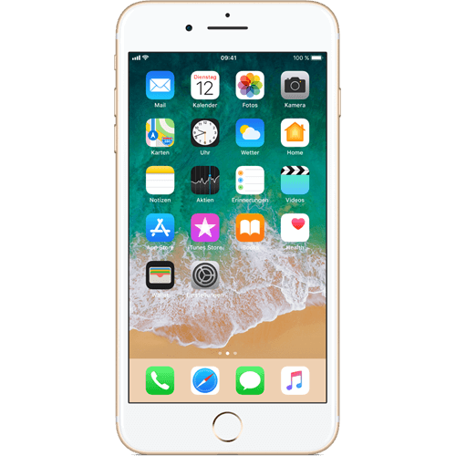 Apple iPhone 7 Plus Gold vorne