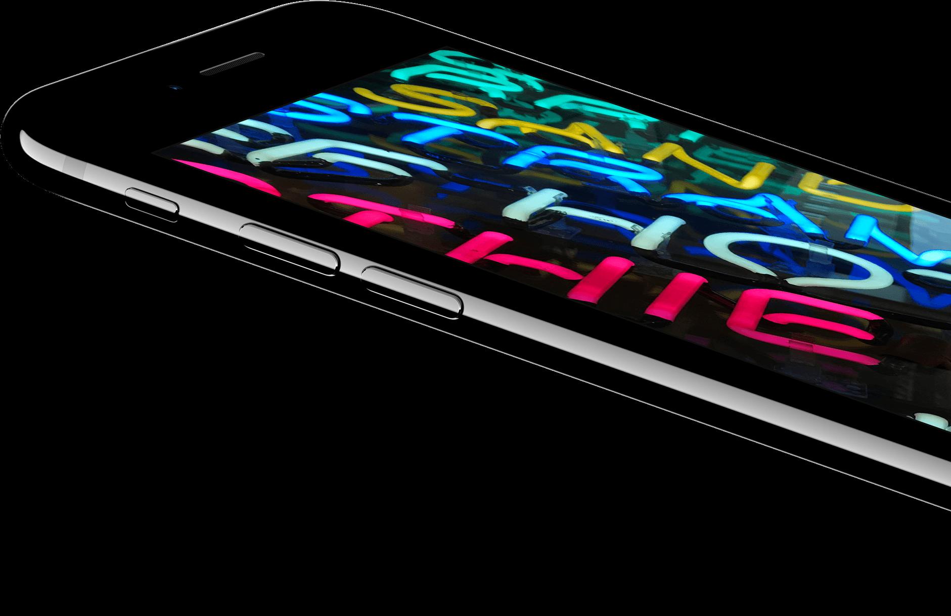 Das hellste iPhone Display. Mit noch mehr Farben.
