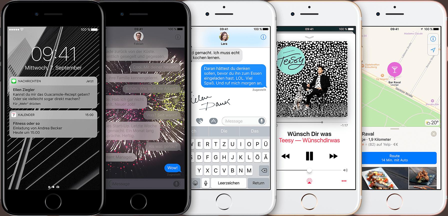 iOS 10. Darum gibt es nichts wie ein iPhone.