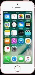 iPhone SE Roségold