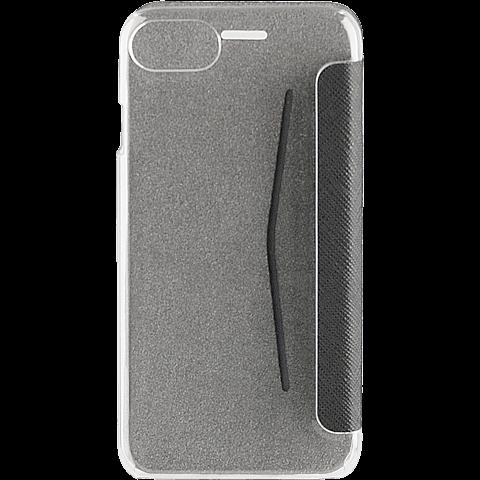 xqisit FlapCover Adour Schwarz Apple iPhone 7 99925140 hinten