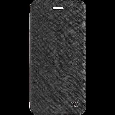 xqisit FlapCover Adour Schwarz Apple iPhone 7 99925140 vorne