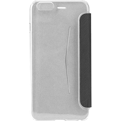 xqisit FlapCover Adour Grau Apple iPhone 7 99925141 hinten
