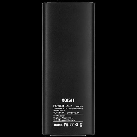 Xqisit Battery Pack 15.600 mAh Schwarz hinten 99925270