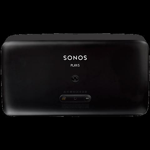 Sonos PLAY:5 Smart Speaker schwarz 99925292 hinten