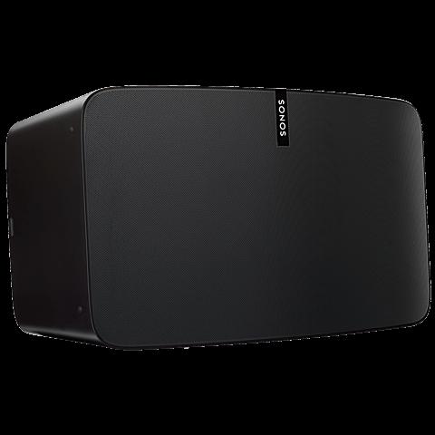 Sonos PLAY:5 Smart Speaker schwarz 99925292 seitlich