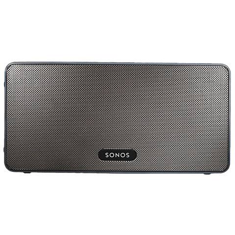Sonos PLAY:3 Smart Speaker Schwarz 99925296 vorne