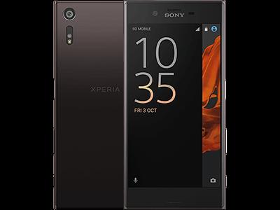 Sony Xperia XZ mineral schwarz USP