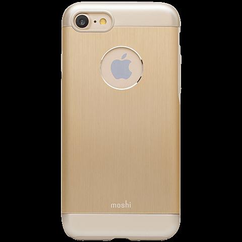 Moshi Cover iGlaze Armour Gold Apple iPhone 7 99925223 hinten