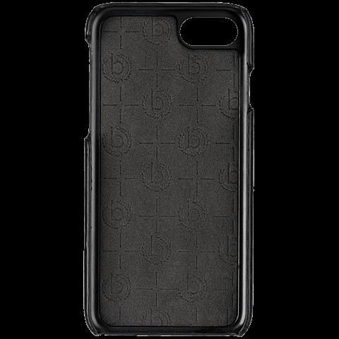 bugatti Snap Cover Porto Schwarz Apple iPhone 7 99925125 vorne
