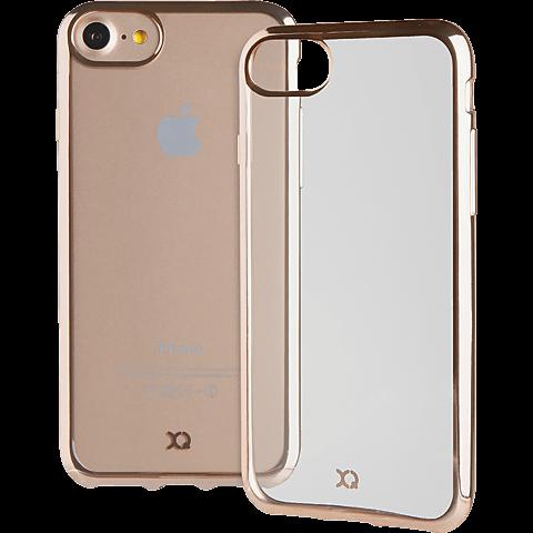 xqisit Flex Case Crome Gold Apple iPhone 7 99925145 hinten
