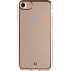 xqisit Flex Case Crome Gold Apple iPhone 7 99925145 kategorie