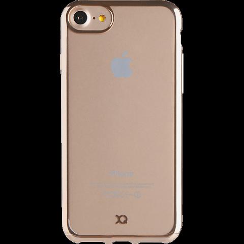 xqisit Flex Case Crome Gold Apple iPhone 7 99925145 vorne