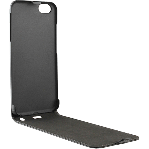 xqisit FlipCover Grau Apple iPhone 7 99925144 seitlich