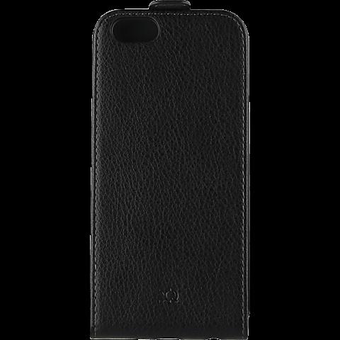 xqisit FlipCover Schwarz Apple iPhone 7 99925143 vorne