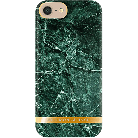 Richmond&Finch Cover Marmor gruen iPhone 7 99925190 hinten