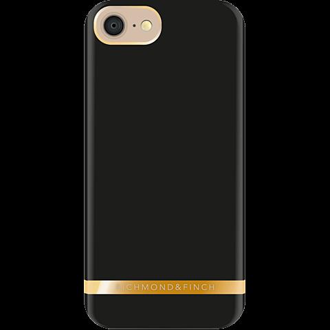 Richmond & Finch Cover Satin Schwarz Apple iPhone 7 99925188 hinten