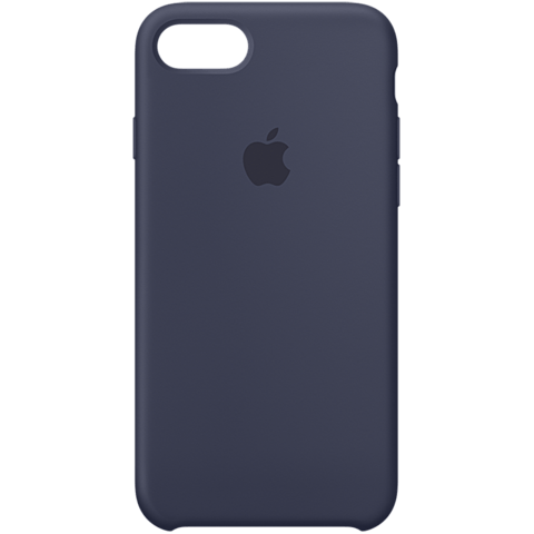 Apple iPhone 7 Silikon Case Dunkelblau 99925566 vorne
