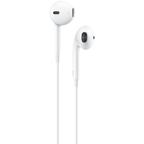 Apple EarPods mit Lightning Connector Weiß 99925585 vorne
