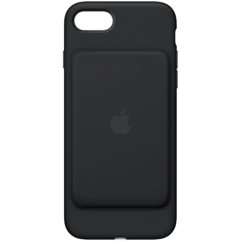 Apple iPhone7 Smart Battery Case Schwarz 99925552 vorne
