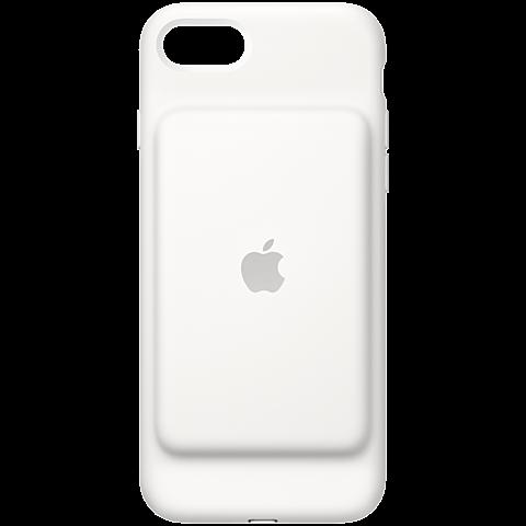 Apple iPhone7 Smart Battery Case Weiß 99925555 vorne