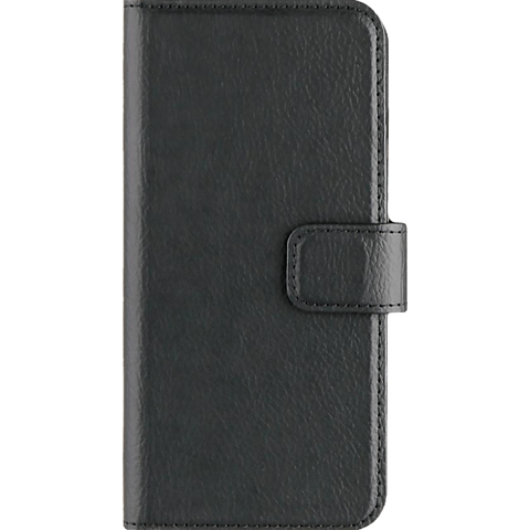 xqisit Slim Wallet Selection Schwarz Apple iPhone 7 99925148 vorne