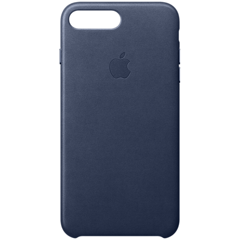 Apple iPhone 7 Plus Leder Case Dunkelblau 99925549 hero