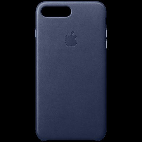 Apple iPhone7Plus Leder Case Dunkelblau 99925549 vorne