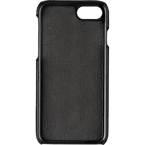 bugatti Snap Cover Porto Schwarz Apple iPhone 7 Plus 99925127 hinten