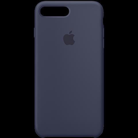 Apple iPhone7Plus Silikon Case Dunkelblau 99925557 vorne