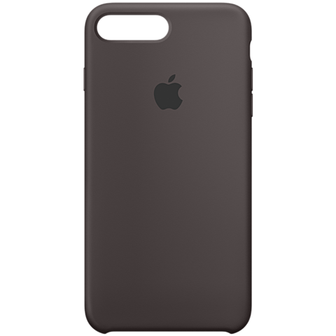 Apple iPhone 7 Plus Silikon Case Kakao 99925581 vorne