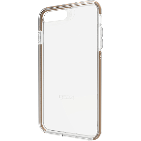 gear4 Cover Piccadilly Apple iPhone 7 Plus Gold 99925473 seitlich