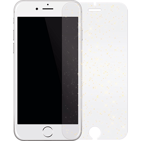 White Diamonds Sparkling Glass Apple iPhone 7 Gold 99925353 vorne