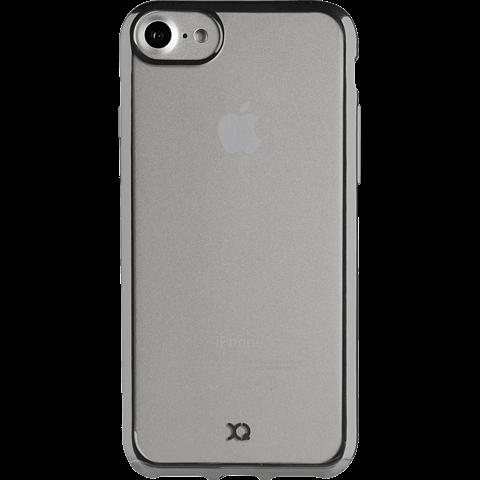 xqisit Flex Case Crome Grau Apple iPhone 7 99925235 vorne
