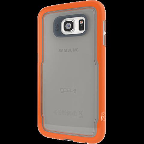 gear4 IceBox Shock Samsung S6 orange hinten 99925468