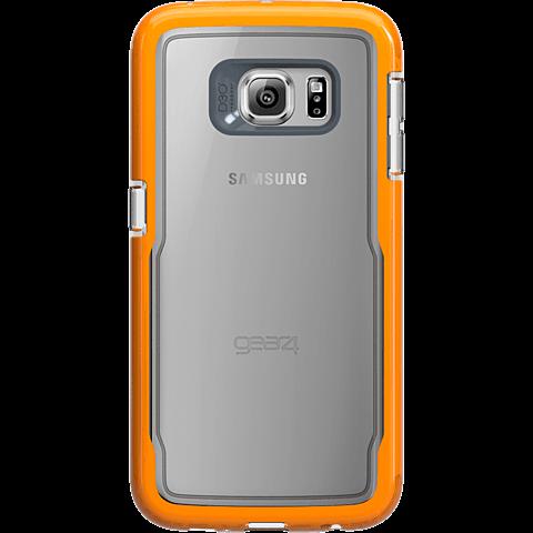 gear4 IceBox Shock Samsung S6 edge orange hinten 99925469