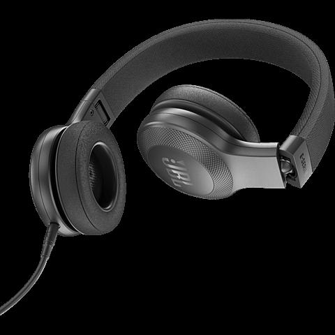 JBL E35 On-Ear Kopfhörer Schwarz 99925498 hinten