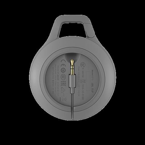 JBL Clip+ Bluetooth-Lautsprecher Grau 99925060 hinten