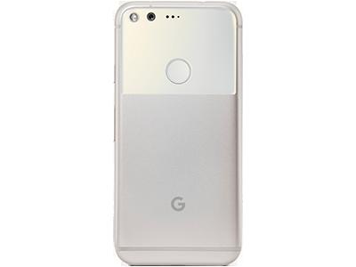 Google Pixel Silber hinten