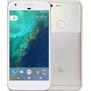 Google Pixel Silber vorne und hinten