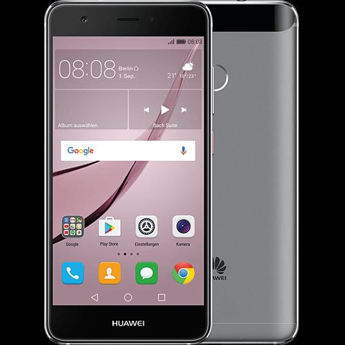 Huawei nova grau vorne und hinten