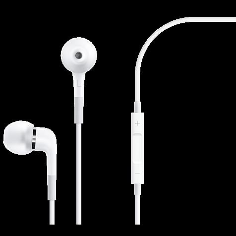 Apple In-Ear Kopfhörer mit Fernbedienung und Mikrofon Weiß 99925250 hero