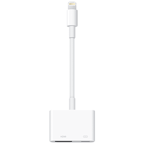 Apple Lightning Digital AV Adapter Weiß 99925251 hero